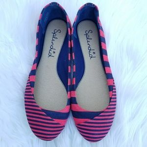 Splendid Striped Flats
